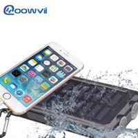 Dual USB Солнечное зарядное устройство 10000mAh Портативный солнечной энергии панели зарядное устройство Power Bank водонепроницаемый для мобильного телефона PAD Tablet MP4 ноутбука