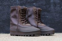 2016 New Kanye West 950 Boot Moon Rock boost Pirate Black Yz...