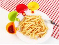 Новые прибытия Dip клипы Кухня Чаша Набор инструментов небольших блюд специй Зажим для томатного соуса Соль Уксус Сахар Специи Flavor