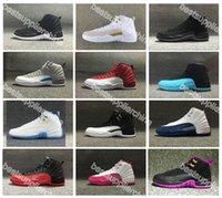 2016 New Airlis Hot Sale Retro 12 Basketball Shoes OVO Gym R...