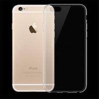 Para el caso del iphone 7 Caso de Iphone 7 Plus Caso de TPU Color claro Ultra fino Caja transparente suave del gel de 0.3mm