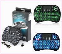 Rii i8 English Backlight Mini Wireless Keyboard 2. 4GHz Touch...