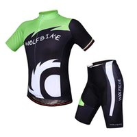 2016 HOT SALE WOLFBIKE Cycling Jerseys Breathable Short slee...