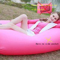 Fast Inflatable Camping Sofa banana Sleeping Lazy Chair Bag ...