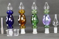 Newest 2 Size Nectar Collector 4. 0 kit honey straw Glass pip...