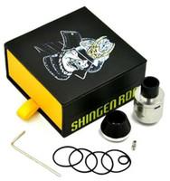Shingen RDA Mods reconstructible atomiseurs Airflow réglable en acier inoxydable Matériau 510 tHead mécanique Mod Vapor DHL ATB496