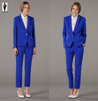 Wholesale Royal Blue Pants Suit Women - Buy Cheap Royal Blue Pants ...
