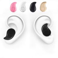Гарнитура Bluetooth Наушники S530 Мини Unversal Беспроводные наушники Спортивные наушники для Samsung iPhone7 7Plus Примечание 7 Запуск спорта Телефон уха