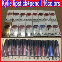 Lip Gloss Lipstick Kylie JENNER Kit Eyeliner lipliner pencil...