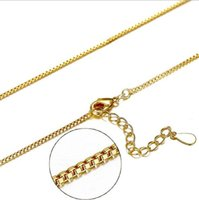 Gold Plated Box Bike Chains Fashion Pendant Necklace Link Ch...