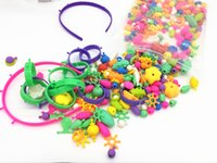 CCX DIY pop beads Intelligence toys Assemble bracelet neckla...