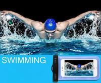 La promoción para el iPhone 6 s7 Universal Clear impermeable a prueba de agua caja de la bolsa bolsa de la cubierta para el Submarino iPhone6 más 5 Samsung Galaxy S6 Note5