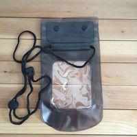 2016 Effacer Pochette Sac étanche Dry Housse pour téléphone portable iphone5 6 6s Samsung s3 s4 S5 S6 S7 DHL gratuit