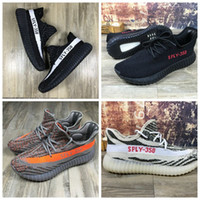 Top All Black New Kanye West SPLY- 350 Boost Season 3 Shoes 5...