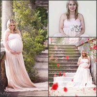 Pregnant Women Baby Shower Dresses 2016 Strapless A Line Plu...