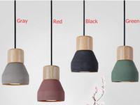 Creative Nordic Rustic Pendant Light Droplamp Ceiling Lamp L...