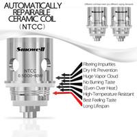 Original Smowell SS316L NTCC 0.5ohm bobine de remplacement de la bobine céramique 30w ~ 50w ajustement DIVERGENT TANK Turbox mod pour un mini-réservoir atomiseur