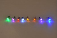Flash earrings Hairpins Strobe LED stud Lights Strobe party ...