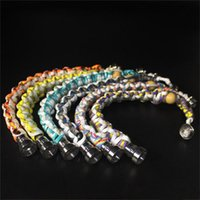 Colorful Bracelet Stealth Pipe Smokewear Bracelet Pipes Stas...