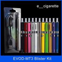Evod MT3 blister kit E- cigarette kit mt3 tanks e cigarette E...