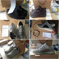 DHL Free Drop Shipping Famous Kanye West 350 Boost Low moonr...