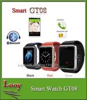 Smart Wrisbrand iPhone Android iwatch GT08 + Intelligent montre téléphone mobile intelligent peut être le temps d'enregistrer l'état de sommeil GT08 Smartwatch