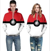New pokeball poke mon hoodies clothes Fashion mens womens Po...