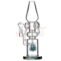2015 New Heady Glass Water Bong Oil Rigs calabash cucurbit Bong Particularités Pipes d'eau Bongs Tall Color Recycler Verre Smoking Water Pipe