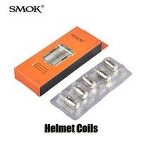100% Original Smok casque réservoir bobines 0.4 / 0.6 / 0.85ohm CLP tête de bobine pour casque Mini Atomiseurs