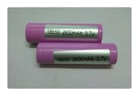 Gratuit Epacket ICR18650 26FM Batterie High Drain 2600mAh 3.7V ajustement Sigelei Mini V2 50W 100W 150W Plus Box Mods Pour Electonics Ciga