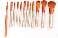 N3 Кисти для макияжа для макияжа наборы кистей Наборы инструментов Порошок Eyeshadow Большой Средний Маленький Брови Губа Eyeliner веко Угловая контурных 12шт