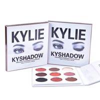 La NOUVELLE NOUVELLE Kylie Jenner Kyshadow a pressé la palette de l'ombre à paupières de couleur de Kit 9 d'ombre de poudre DHL shipping + GIFT libre MR024