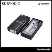 Authentic Kangertech SUBVOD-C Starter Kit avec 2,8 ml Kanger Subtank Nano-C Réservoir et 1300mAh SUBVOD batterie DHL gratuit