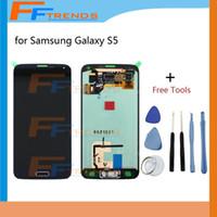 Pour l'assemblage G900T G900P G900 G900 G900 G900G G900A G900F G900F de numériseur de l'écran d'affichage à cristaux liquides de Samsung Livraison gratuite