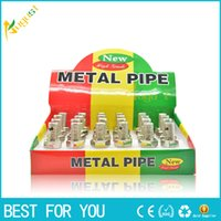 Novelty Zinc Alloy Tobacco and Cigarettes Smoking Pipe DIY S...