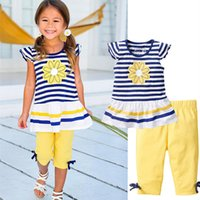 2016 New Girls Clothing Sets Baby Kids Clothes Children Clot...