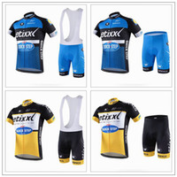 2016 Quick Step Cycling Jerseys Short Sleeve With Padded Bib...