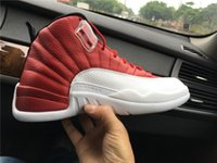 2016 Top Quality Mens Retro 12 Gym Red Basketball shoes With...
