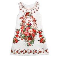 Girl Dress Flower Kids Clothes 2016 Children Clothing Brand ...