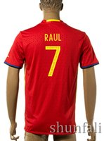 Thai Quality Customized 2016 European Cup Spain Home Soccer ...