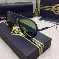 Atacado Melhor Qualidade MenWomen DITA MACH ONE óculos Unisex Dita UV400 óculos Sun Eyewear Vintage Dita Retro com Case Original