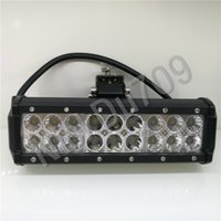 9' ' 54W Search Work Led Light Bar Automotive LED F...