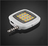 iblazr RK05 Nouveau téléphone mobile 16 lumière FLASH LED Mini selfie Sync lampe de poche pour iPhone 6 5s Galaxy lumières téléphone multiple photographie MQ300