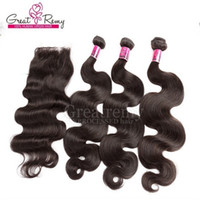 Malaysian 100% Unprocessed Human Hair Extensions Weave Natur...