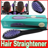 DAFNI Hair Straightener Brush Comb Straightening Irons dafni...