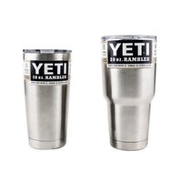 Hot YETI Bilayer Stainless Steel Insulation Cup 30 OZ 20 OZ ...