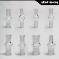 14.4mm à 18.8mm 14.4mm à 14.4mm 18.8mm à 18.8mm 14mm à 14mm 14mm à 18mm adapteur en verre 18mm à 18mm adapteur masculin femelle expédition libre