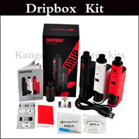 Kit Dripbox de alta calidad con depósito KangerTech Subdrip Depósito RDA Dripmod Box Mod clone 7.0ml Frascos de capacidad vs kit de arranque terminator
