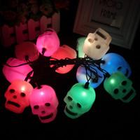 Holiday 5M 20 LED Skulls String Light Popular decorative lig...