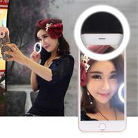 Mettle clip-on compatta Mini 36pcs LED Bead selfie Auto Anello Ritratto Fill-in Pocket luce CRI95 + 3-mode per iPhone Samsung D4023 cellulare